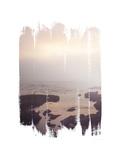 Painted Seaside II Giclée premium par Laura Marshall