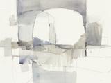Improvisation I Gray Crop Reproduction d'art par Mike Schick