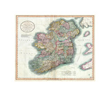 New Map of Ireland