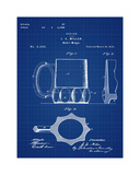 Beer Mug 1873 Blueprint