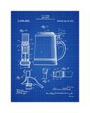 Beer Stein 1914 Blueprint