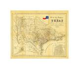 Texas - 1849 Giclée par Bill Cannon