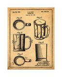 Beer Mug 1951 in Sepia