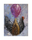 Rooster with Baloon