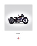 Harley Davidson Model V 1930