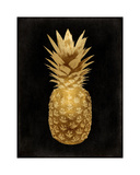 Gold Pineapple on Black II