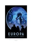 Europa-Discover Life Under The Giclée par JPL