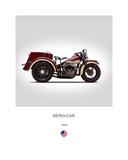 Harley Davidson Servi Car 1946