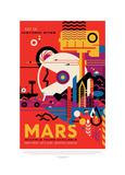 Mars Giclée par JPL
