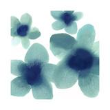 Aqua Blooms I