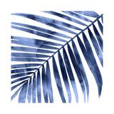 Tropical Indigo Palm I Giclée par Melonie Miller