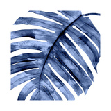 Tropical Indigo Palm II Giclée par Melonie Miller