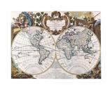 Mappe Monde-1744