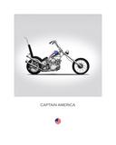 Harley Davidson Captain Americ