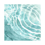 Aqua Ripple Reflection I