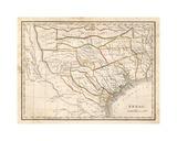 Texas historical map
