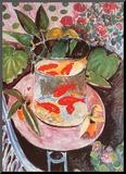 Poissons rouges Reproduction montée par Henri Matisse