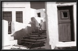 Sifnos, Grece Reproduction encadrée par Henri Cartier-Bresson