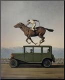 La Colere des Dieux Reproduction montée par Rene Magritte