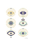 White Evil Eyes