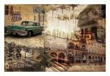 Cuba Reproduction d'art par GraphINC