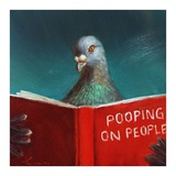 Pooping on People Reproduction d'art par Lucia Heffernan