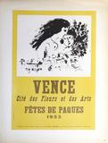 Vence Fetes de Paques Reproduction pour collectionneurs par Marc Chagall