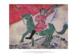 The Rider Reproduction pour collectionneurs par Marc Chagall