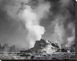 Castle Geyser Cove  Yellowstone National Park  Wyoming  ca 1941-1942