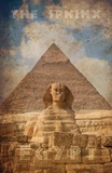Vintage Great Sphinx of Giza  Pyramids  Egypt  Africa