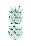 Pineapple Triangles Reproduction d'art par OnRei