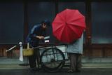 A Vendor Delivers Tofu Door-To-Door