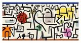 Rich Harbour (detail) Giclée par Paul Klee