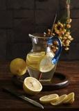 Life And Lemons Impression sur toile par Luiz Laercio