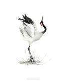 Japanese Cranes I