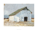 Whitewashed Barn I