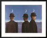 Le Chef d'Oeuvre Ou les Mysteres de l'Horizon, c.1955 Reproduction encadrée par Rene Magritte