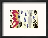 Knife Thrower Reproduction encadrée par Henri Matisse