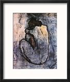 Blue Nude, c.1902 Reproduction encadrée par Pablo Picasso