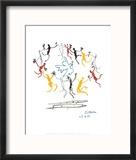 The Dance of Youth Reproduction encadrée par Pablo Picasso
