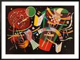 Komposition X, c.1939 Reproduction encadrée par Wassily Kandinsky
