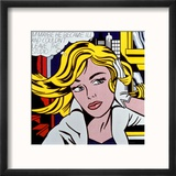 M-Maybe, c.1965 Reproduction encadrée par Roy Lichtenstein