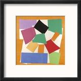 The Snail, 1953 Reproduction encadrée par Henri Matisse