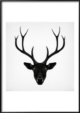 The Black Deer Reproduction encadrée par Ruben Ireland