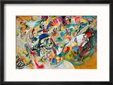 Composition VII, 1913 Reproduction giclée encadrée par Wassily Kandinsky