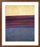 Your Lips Are Blue, c.1958 Reproduction encadrée par Frank Stella