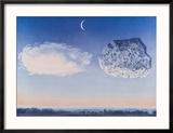 La Bataille de L'Argonne Reproduction encadrée par Rene Magritte