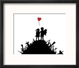 Love Reproduction encadrée par Banksy