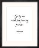 John Lennon-Friends