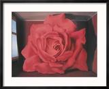Le Tombeau Des Lutteurs, 1960 Reproduction encadrée par Rene Magritte